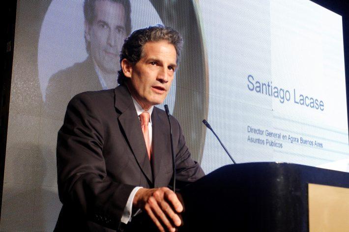 Santiago Lacase en los premios Eikon