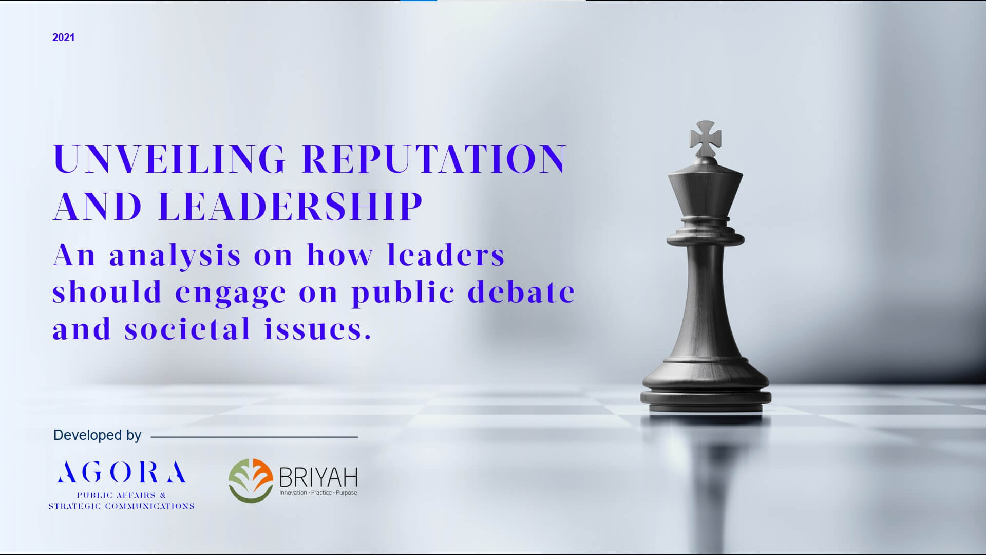 UNVEILING REPUTATION AND LEADERSHIP